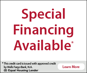 Wells Fargo Financing Service Availabe at North Georgia Diamond
